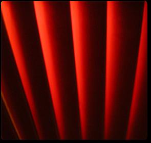 Ovenlys Persienner - Ensfarvede
